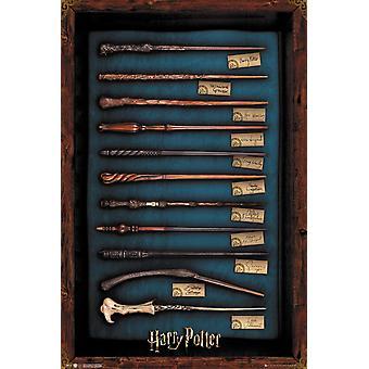 Harry Potter Wands Maxi Poster 61x91.5.cm
