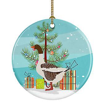 بوميرانيان روجينير غوس عيد الميلاد زخرفة السيراميك