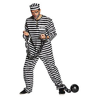 Con men's costume of prisoner Kanchanaphet Halloween Carnival