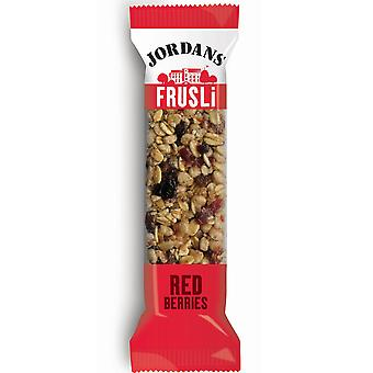 Jordans Frusli Redberries Bar