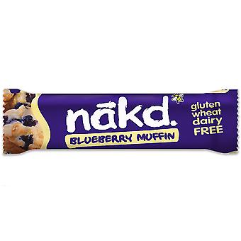 Nakd Gluten Free & Dairy Free Blueberry Muffin Bars