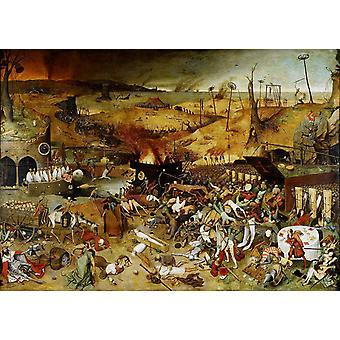 Triumph of Death,Pieter Bruegel the Elder,60x40cm