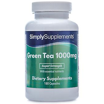 Green-tea-extract-1000mg - 120 Capsules