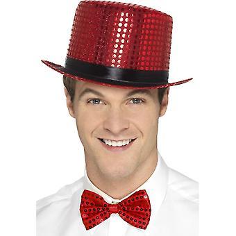 الترتر قبعة، الأحمر