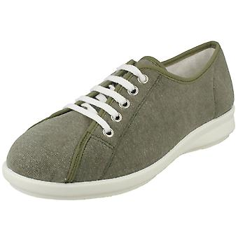 Ladies Easy B Canvas Shoes Anthea