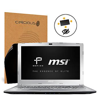 Celicious Privacy Plus Anti-Spy 4-fach Filter Screen Protector Film kompatibel mit MSI Prestige PE62 8RC