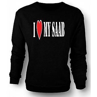 Sweatshirt ik LoveMy Saab - leuke auto