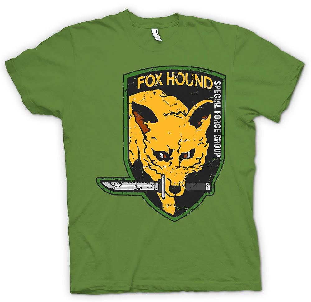 Mens T-shirt - Fox Hound - Special Forces Group - Spieler