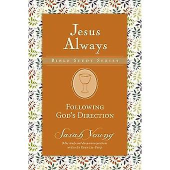 Following God's Direction by Sarah Young - 9780310091356 Book