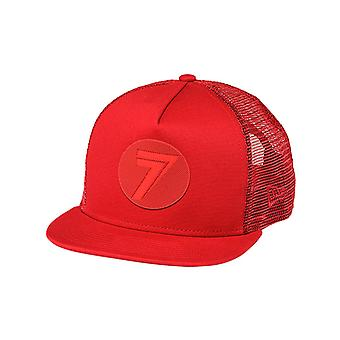 Seven MX New Era Red-Red Dot Kids Trucker Cap