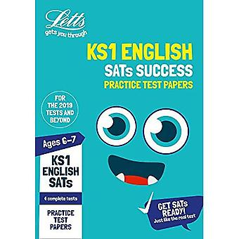 KS1 English SATs Practice Test Papers: 2019 tests (Letts KS1 SATs Success) (Letts KS1 SATs Success)