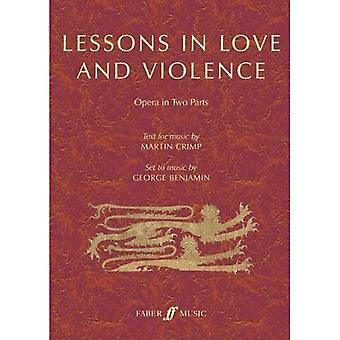 Lessons in Love and Violence: Libretto for Opera in Two Parts, Libretto