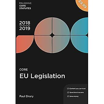 EU: n lainsäädännön 2018-19 (Palgrave Core perussääntö)