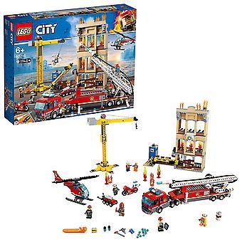 LEGO City 60216 brand Downtown brandvæsen