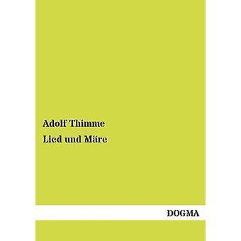 Lied und Mre by Thimme & Adolf