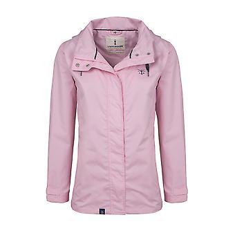 Vuurtoren Beachcomber dames jas Rose Pink