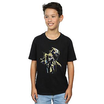 Marvel Boys Avengers Endgame Gold Thanos T-Shirt