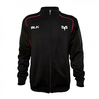 2015-2016 ospreys BLK Rugby Travel Jacket (nero)
