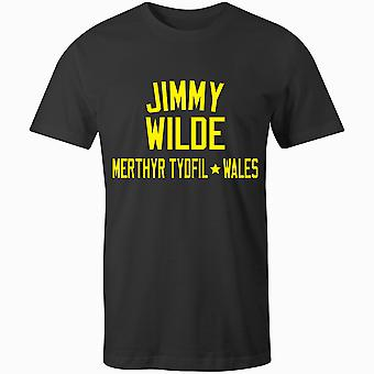 Jimmy Wilde Boxing Legend T-Shirt