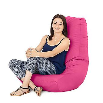 Pink Water resistant Outdoor Gaming Bean Bag Highback Lounger Chair