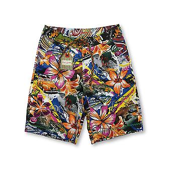 Robert Graham Pontoon swim shorts in multi colour