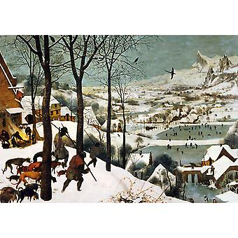 Piatnik Breugel Hunters In The Snow Jigsaw Puzzle (1000 Pieces)