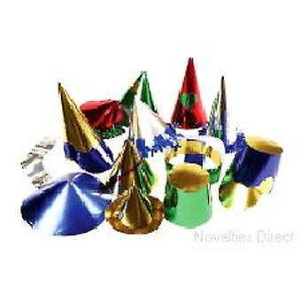 Foil Board Carnival Hats - Small 144