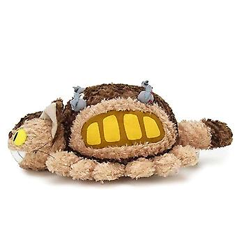 My Neighbor Totoro Plush Figure Fluffy Cat Bus, Size M Material: 100% Polyester.