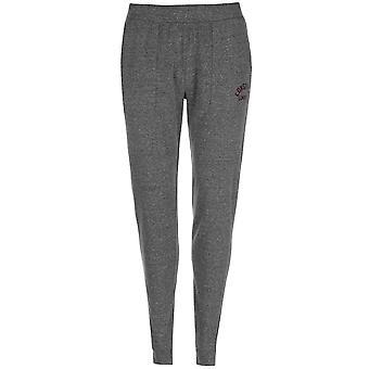 Lonsdale Womens Jersey Sweatpants Jogging Bottoms Trousers Pants Drawstring