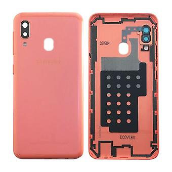 Samsung GH82-20125D Battery Cover Cover for Galaxy A20E A202F + Adhesive Pad Coral New