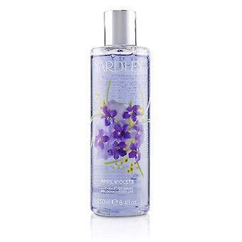 Yardley London April Violets Luxury Body Wash 250ml/8.4oz