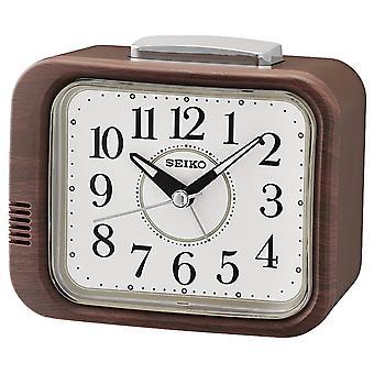 SEIKO CLOCKS Analog Alarm Clock QHK046Z