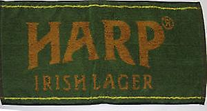 Harp Lager Cotton Bar Towel    (pp)