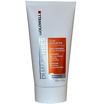 3 x 50ml Goldwell Sun Reflects 60 Sec Treatment For Sun Stressed Hair