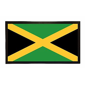 Printed Bar Runner Jamaican Flag Rubber Bar Mat Mens Gift Idea