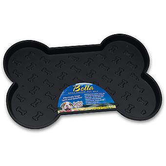 Bella Spill-Proof Bone Shaped Dog Mat 18.25