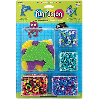 Perler Fun Fusion Fuse Bead Activity Kit Fun Fusion Ocean Buddies 559 71