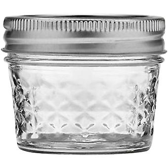 Ball Quilted Crystal Jelly Jar 4 Ounces 80400