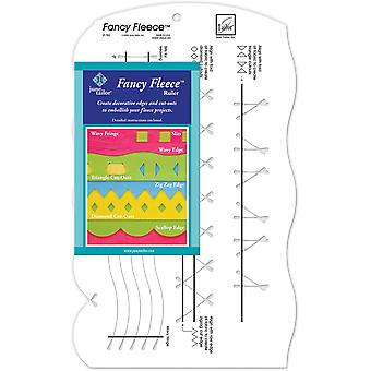 Fancy Fleece Slotted Ruler 9 1 2