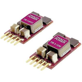 DC/DC converter (print) TracoPower 24 Vdc 15 Vdc 3 A No. of outputs: 1 x