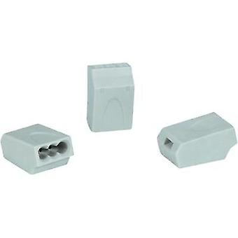 Connector clip flexible: 0.5-1.5 mm² rigid: 0.5-1.5 mm² Number of pins: 3