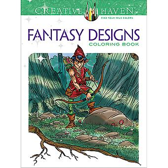 Dover Publications-Creative Haven : Fantasy Designs DOV-01285