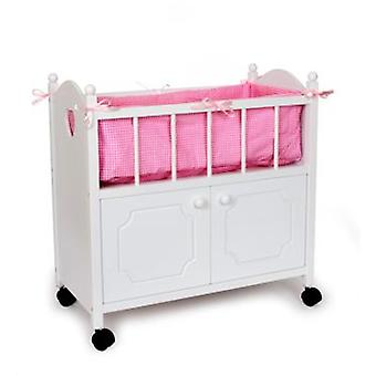 Legler Doll Bed With Wardrobe