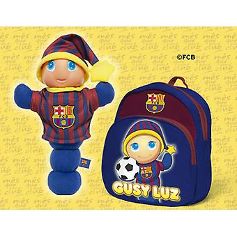 Molto Gusy FCBarcelona + Backpack (Babies , Spielzeuge , Plüschtiere)