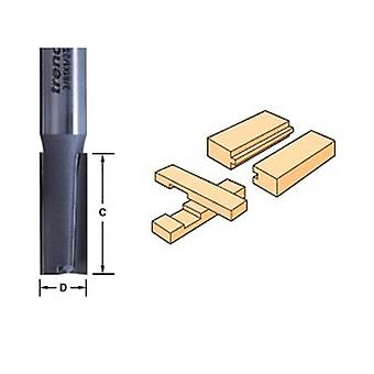Trend 3/6 X 1/2 Tungsten Carbide Two Flute Cutter