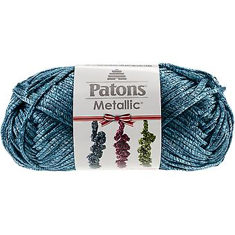 Metallic Holiday Yarn-Teal 244098-98201