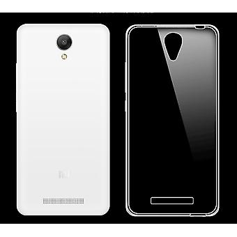 Xiaomi Redmi Not 2 transparent fodral cover silikon