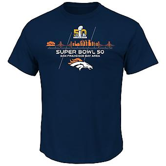 Majestic Super Bowl 50 champions Shirt - Denver Broncos