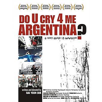 U itkeä 4 we Argentiina elokuvajuliste (11 x 17)