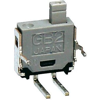 Pushbutton 28 V DC/AC 0.1 A 1 x Off/(On) NKK Switches GB215AH momentary 1 pc(s)